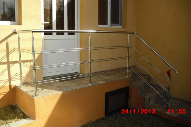 Balustrada Inox - Profil 1
