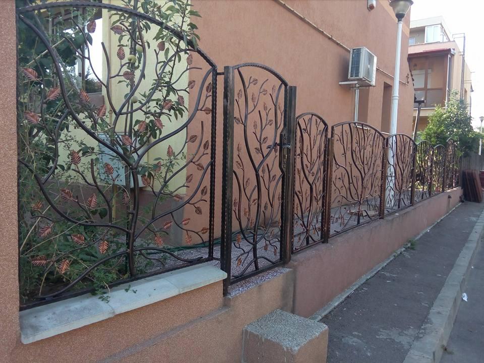Gard din fier forjat - Model 2