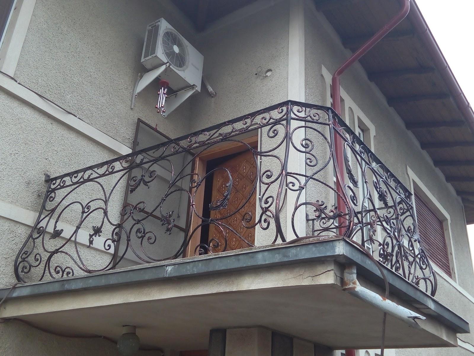 Balustrada Fier Forjat Cocosesti - Model 43