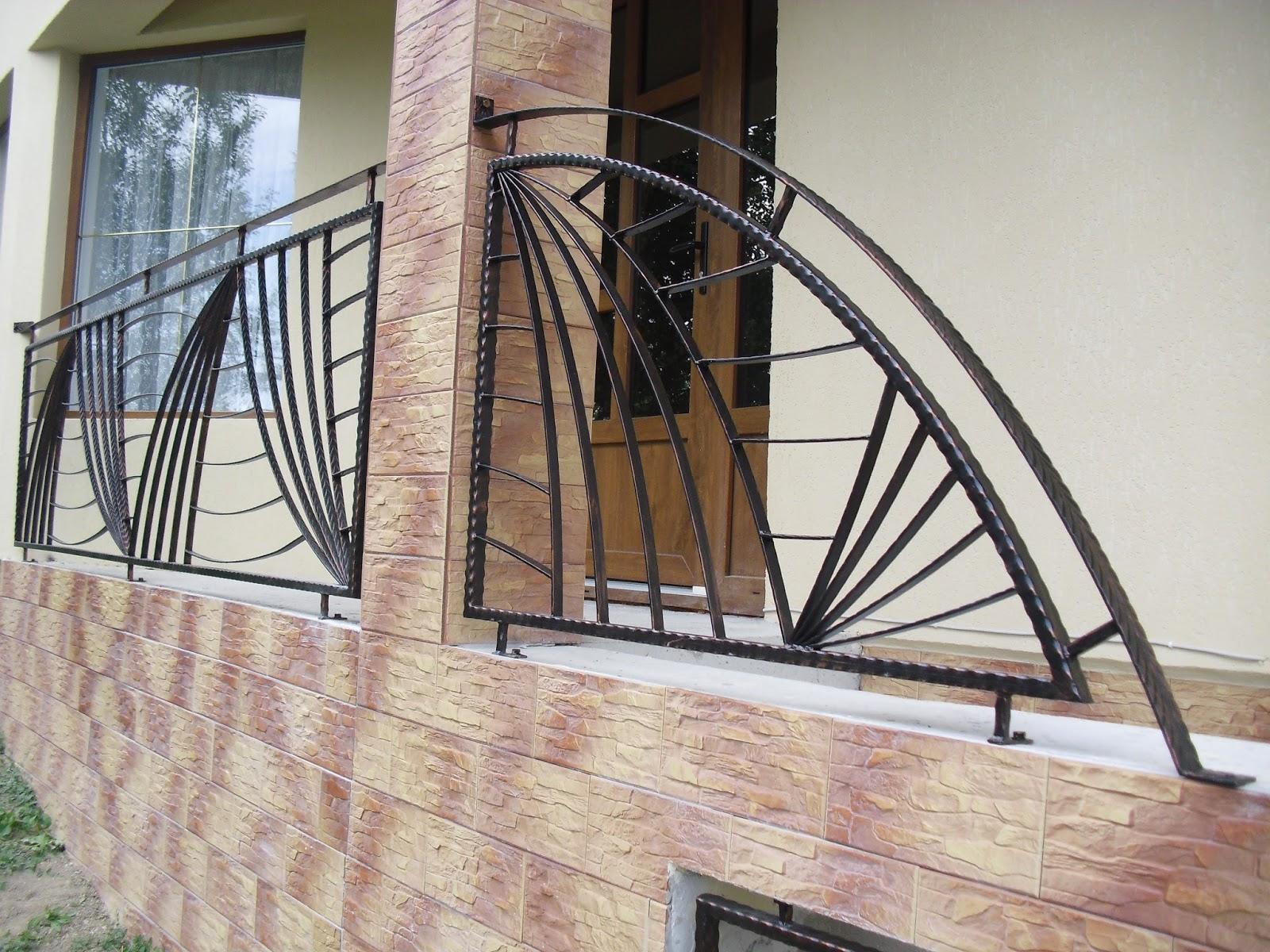 Balustrada Valuri Câmpina - Model 12